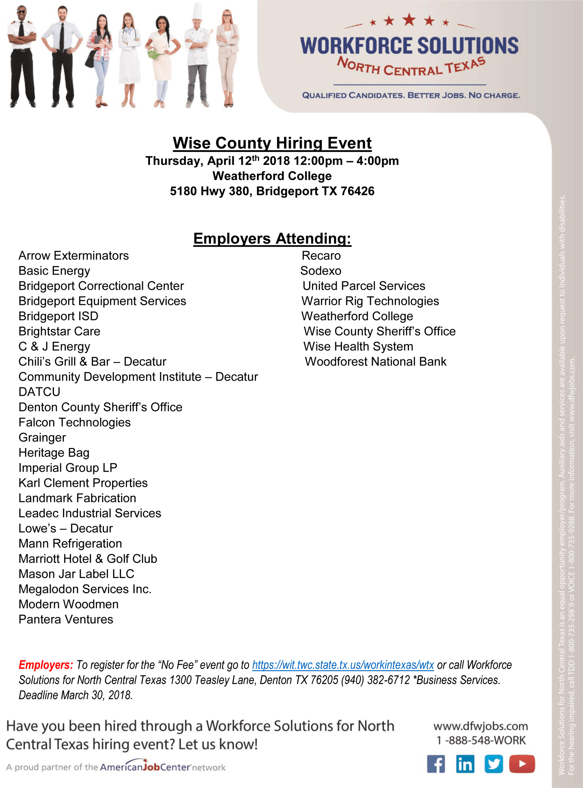 Wise County Hiring Event 2