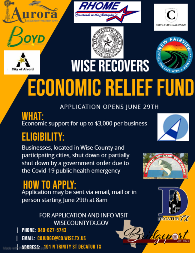 Wise County Economic Relief Fund